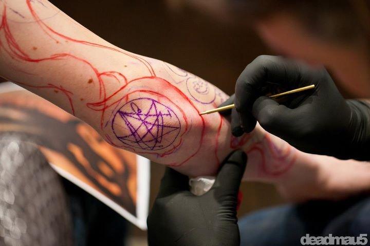 Deadmau5's Epic/Insane New Tattoo