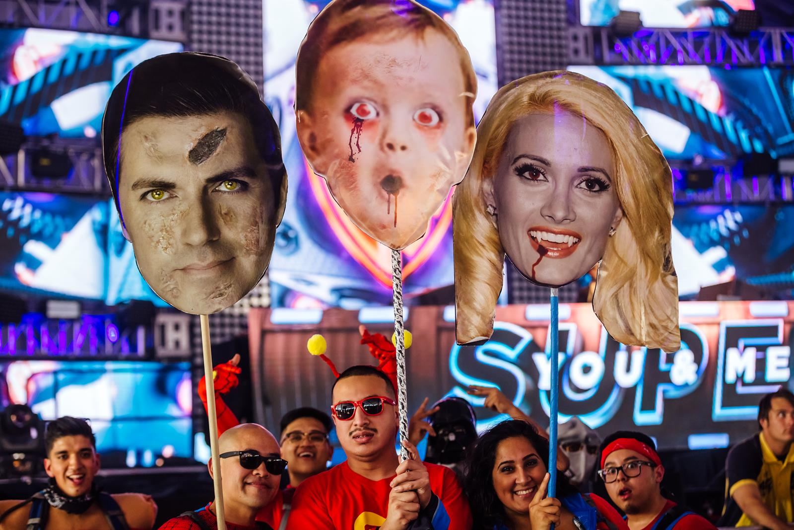 Check out these crazy Halloween festival photos